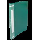 Папка пластикова А4 20 файлів Buromax, зелена