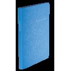Папка пластикова А4 Barocco 20 файлів, блакитна
