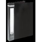 Папка пластикова А4 60 файлів Buromax, чорна