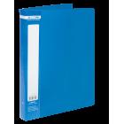 Папка пластикова А4 40 файлів Buromax, синя