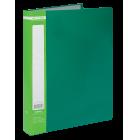 Папка пластикова А4 60 файлів Buromax, зелена