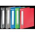 Папка пластикова А4 40 файлів Buromax, асорті
