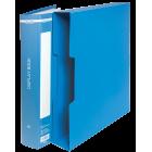Папка пластикова А4 80 файлів Buromax, синя