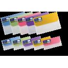 Папка-конверт на липучке DL Travel BM.3708-99, ассорти