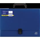 Портфель пластиковый A4 1 отделение BM.3724-02, синый