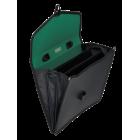 Портфель пластиковый 3 отделения BM.3734-01, черный
