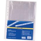 Файл глянцевый А4+ BuroMax 40мкм, 100 шт/уп