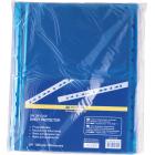 Файл глянцевий кольоровий А4 + BuroMax 40мкм синій, 100 шт/уп.