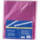 Файл глянцевый цветной А4+ BuroMax 40мкм фиолетовый, 100 шт/уп.