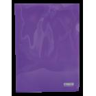 Папка-уголок 120мкм А4 Buromax, фиолетовая