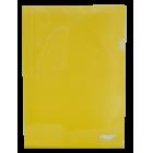 Папка-уголок 120мкм А4 Buromax, желтая