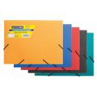 Папка на резинках А5 пластиковая BM.3901-99, ассорти