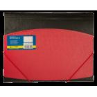 Папка на резинках А4 пластиковая BM.3910-05, красная