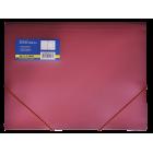 Папка на резинках А4 пластиковая BM.3913-05, красная