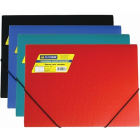 Папка на резинках А4 пластиковая BM.3913-99, ассорти