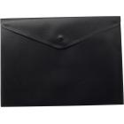 Папка-конверт на кнопке А4 BM.3925-01, черная