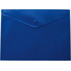 Папка-конверт на кнопке А4 BM.3925-02, синяя