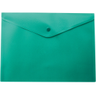 Папка-конверт на кнопке А4 BM.3925-04, зеленая