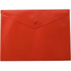 Папка-конверт на кнопке А4 BM.3925-05, красная