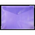 Папка-конверт на кнопке А4 BM.3925-07, фиолетовая