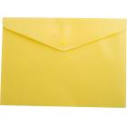 Папка-конверт на кнопке А4 BM.3925-08, желтая