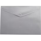 Папка-конверт на кнопке А4 BM.3925-09, серая
