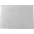Папка-конверт на кнопке А4 BM.3926-00, прозрачная