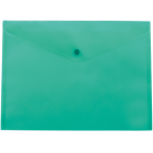 Папка-конверт на кнопке А4 BM.3926-06, бирюзовая
