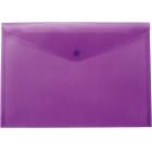 Папка-конверт на кнопке А4 BM.3926-07, фиолетова