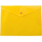 Папка-конверт на кнопке А4 BM.3926-11, желтая