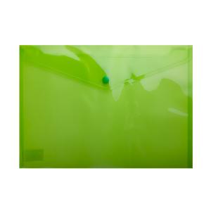 Папка-конверт на кнопке А4 BM.3926-15, темно-зеленая