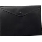 Папка-конверт на кнопке А5 BM.3935-01, черная