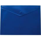 Папка-конверт на кнопке А5 BM.3935-02, синяя