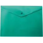 Папка-конверт на кнопке А5 BM.3935-04, зеленая