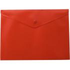 Папка-конверт на кнопке А5 BM.3935-05, красная
