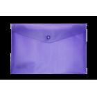 Папка-конверт на кнопке А5 BM.3935-07, фиолетовая