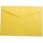 Папка-конверт на кнопке А5 BM.3935-08, желтая