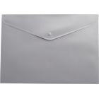 Папка-конверт на кнопке А5 BM.3935-09, серая