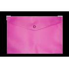 Папка-конверт на кнопке А5 BM.3935-10, розовая