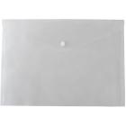 Папка-конверт на кнопке А5 BM.3936-00, прозрачная