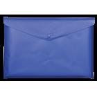 Папка-конверт на кнопке А5 BM.3936-02, синяя