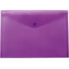 Папка-конверт на кнопке А5 BM.3936-07, фиолетовая