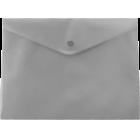 Папка-конверт на кнопке А5 BM.3936-09, серая
