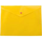 Папка-конверт на кнопке А5 BM.3936-11, желтая
