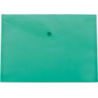 Папка-конверт на кнопке А5 BM.3936-15, темно-зеленая