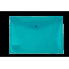 Папка-конверт на кнопке А5 BM.3935-06, бирюзовая