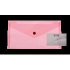 Папка-конверт на кнопке DL Travel BM.3938-05, красная