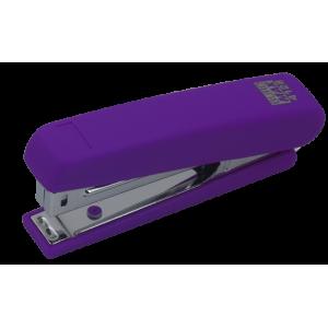 Степлер Buromax BM.4128 RUBBER TOUCH, фиолетовый
