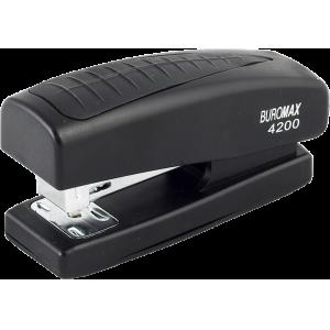 Степлер Buromax BM.4200, черный