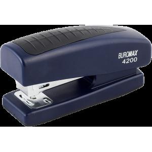 Степлер Buromax BM.4200, синій